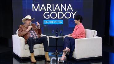 Sérgio Reis é o convidado de Mariana Godoy em seu Mariana Godoy Entrevista