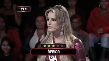 Miss S�o Paulo, Bruna Michels diz que a �frica fica perto da Amaz�nia