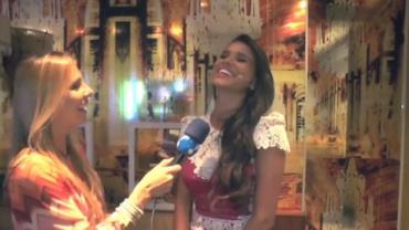 Jakelyne Oliveira, Miss Brasil 2013, revela que cometeu um erro tolo