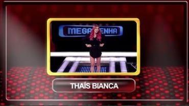Mega Senha deste s�bado recebe Thais Bianca e Donizeti; assista �s 23h