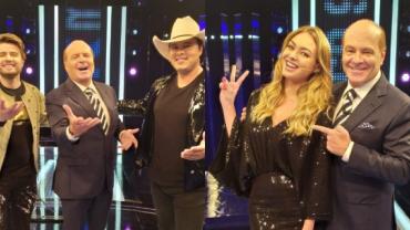 Bárbara Heck e Conrado e Aleksandro participam do Mega Senha desta semana
