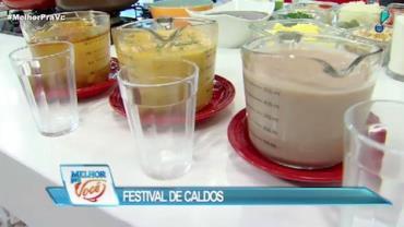 Culinária do Edu promove Festival de Caldos