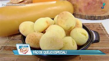 Edu Guedes ensina a fazer pão de queijo especial com queijo tulha