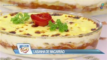 Edu Guedes faz receita de pastitsio - a lasanha grega