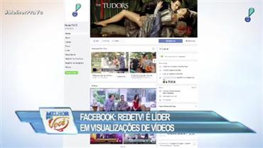 RedeTV! é líder em visualizações de vídeos no Facebook