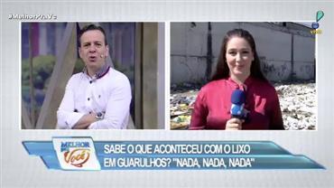 """Denúncia: Prefeitura de Guarulhos mantém """"lixão"""" a céu aberto"""