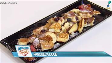 Culinária do Edu ensina receita de panqueca doce