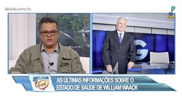 William Waack é submetido a cateterismo em hospital de SP