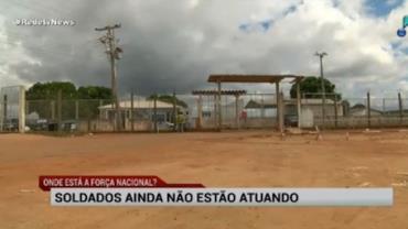 Força Nacional ainda não atua em Roraima