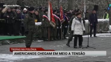 Tropas americanas na Polônia causam problemas com a Rússia