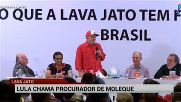 Lula chama procurador da Lava Jato de 'moleque'