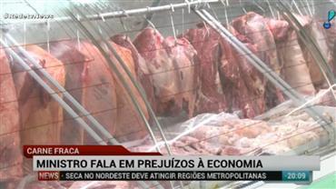 Governo espera que exportação de carne volte ao normal em duas semanas