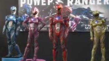 Longa sobre Power Rangers mostra origem do fenômeno da década de 1990