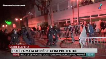 Manifestantes protestam contra morte de Chinês por polícia em Paris