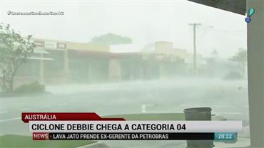 Ciclone Debbie deixa mortos e desabrigados na Austrália