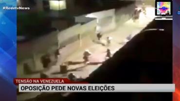 Oposição pede novas eleições na Venezuela