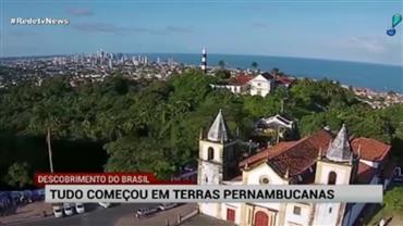 Descobrimento do Brasil teria começado em terras pernambucanas