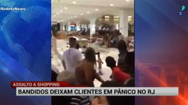 Rio de Janeiro vive onda de violência em shoppings