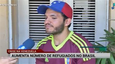 Aumento o número de refugiados venezuelanos no Brasil