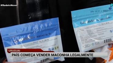 Começa a venda recreativa de maconha no Uruguai