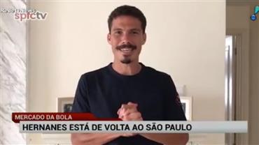 Hernanes está de volta ao São Paulo