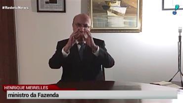 Henrique Meirelles pede orações para a economia