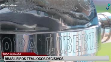 Libertadores: brasileiros têm jogos decisivos