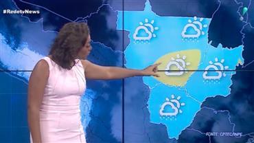 Chuva predomina no Centro-Oeste do País no final de semana