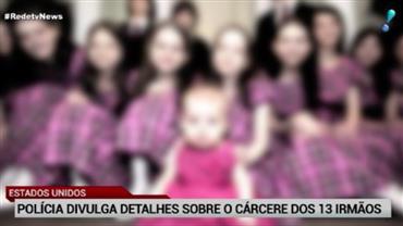 Polícia dos EUA divulga detalhes do cárcere privado dos 13 irmãos