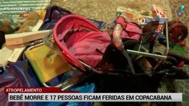 Responsável por atropelamento no Rio responderá processo em liberdade