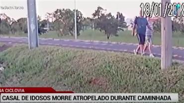 Casal de idosos morre atropelado durante caminhada no DF
