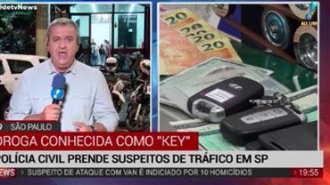 Polícia de SP prende suspeitos de tráfico de drogas