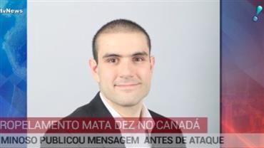 Canadá divulga identidade de autor de atropelamento que matou 10