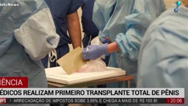 Médicos nos EUA realizam primeiro transplante total de pênis