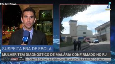 Jovem com suspeita de ebola é diagnosticada com malária no Rio