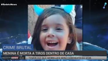 Menina é morta a tiros dentro de casa no DF