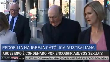 Arcebispo é condenado por encobrir abusos na Austrália