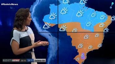 Temperaturas baixas predominam no sul e sudeste do Brasil