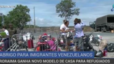 Roraima ganha o décimo abrigo para imigrantes venezuelanos