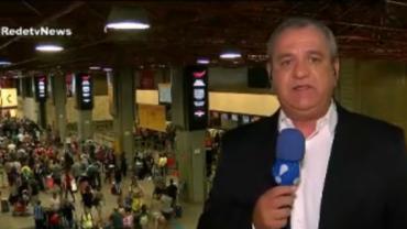Aeroporto de São Paulo tem voos atrasados pelo quinto dia consecutivo
