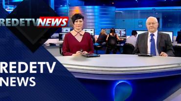 Assista à íntegra do RedeTV News de 11 de novembro de 2019