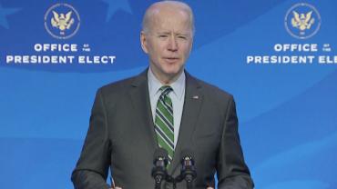Joe Biden toma posse como presidente dos EUA nesta quarta-feira (20)