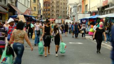 Comércio volta a funcionar em São Paulo a partir de domingo