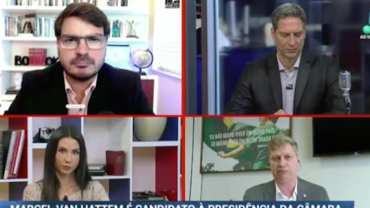 """Van Hattem sobre polarização de Baleia e Lira na Câmara: """"é mais do mesmo"""""""