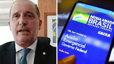 Onyx Lorenzoni: nova proposta do auxílio emergencial pode iniciar em março