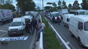 Presidente da FECAM-SP fala sobre protesto dos caminhoneiros em SP