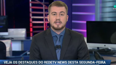 Veja os destaques do RedeTV News desta segunda-feira (10)