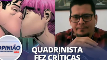 """Luciano Cunha vê """"imposição goela abaixo"""" de Super-Homem bissexual"""