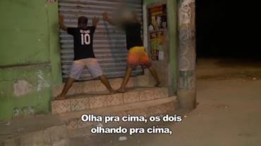 Polícia faz patrulha em favela do Espírito Santo