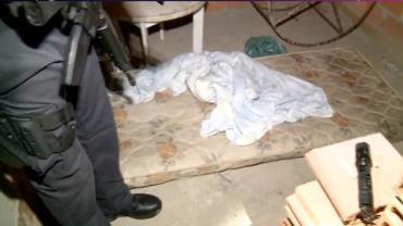 Polícia faz busca por sequestrador em cativeiro
